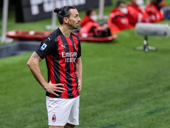 Domper voor Zweden: Ibrahimovic mist EK voetbal door knieblessure