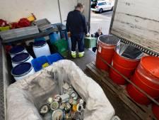 Aalstenaren leveren en masse klein chemisch afval in
