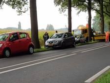 File op N733 tussen Enschede en Oldenzaal door aanrijding