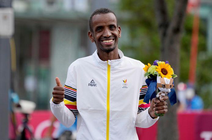 Bashir Abdi won brons op de Spelen in Tokio.