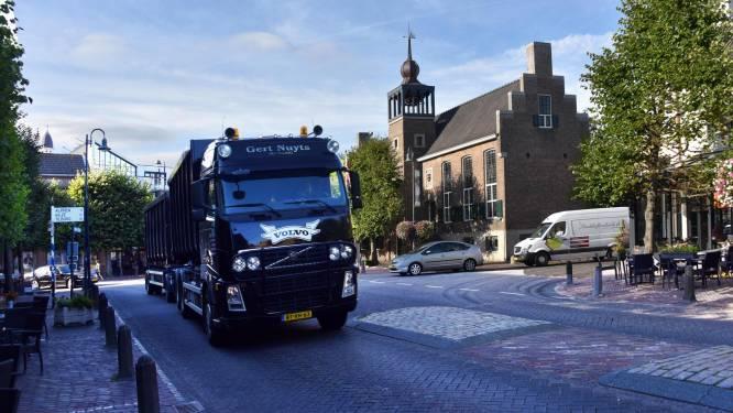 Baarle bant doorgaand vrachtverkeer vanaf 7 oktober (maar landbouwvoertuigen nog wel toegelaten)