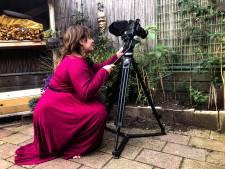 Filmmaakster Sanne nam tijdens lockdown natuurfilm op in achtertuin: 'Er bleek echt veel te gebeuren'