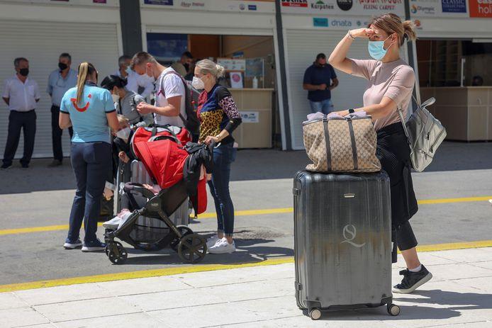 Duitse toeristen in Griekenland, beeld ter illustratie.