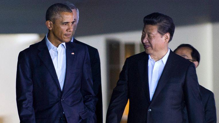 Barack Obama's in de VS verguisde 'cap and trade'-systeem wordt in het China van president Xi Jinping wel ingevoerd. Beeld EPA