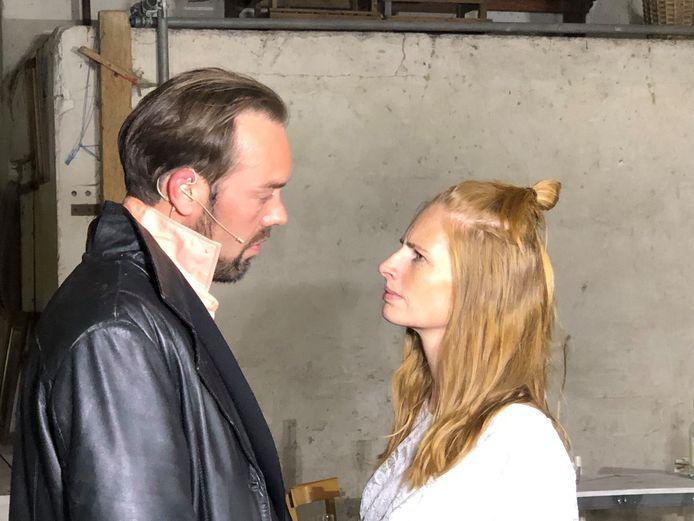 Harold Reuser en Cindy van Loon.