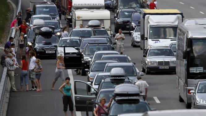 Opnieuw erg druk weekend verwacht op de Europese wegen