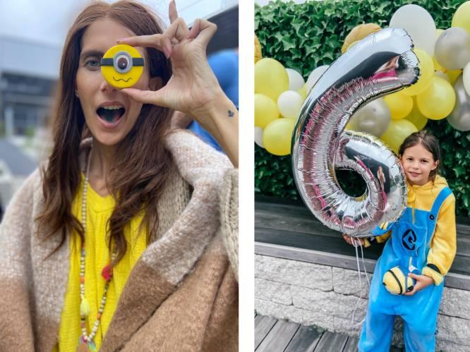 """COLUMN. Lara Switten (35), mama van 3 die strijdt tegen kanker: """"Me helemaal onderdompelen in de feestsfeer, kan ik niet. Ik doorsta helse pijnen"""""""
