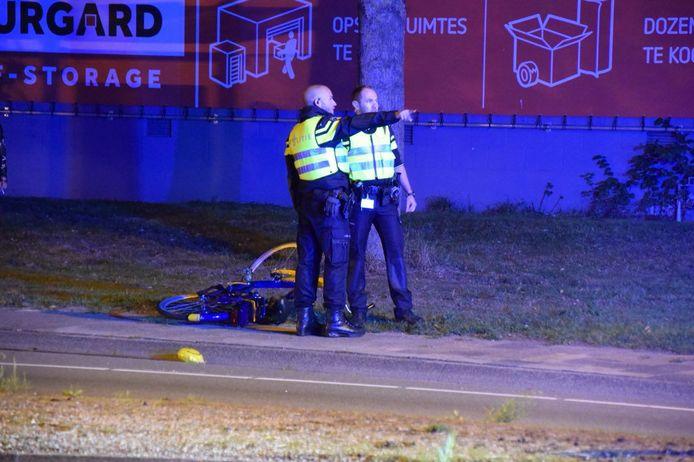 Bij de aanrijding in Groningen raakten een man en een vrouw zwaargewond.