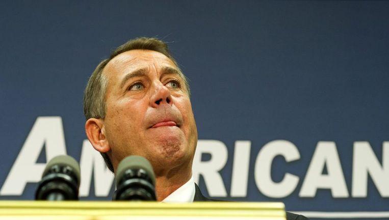 John Boehner. Beeld afp