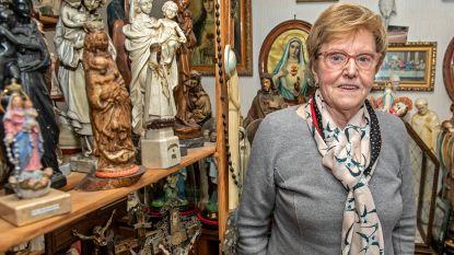 """Maria stelt heiligenbeelden tentoon: """"In 1978 kreeg ik een eerste Mariabeeldje cadeau, ondertussen heb ik er duizend"""""""