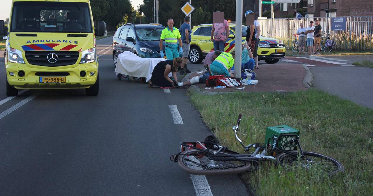 Fietser gewond door ernstig ongeval in Spankeren.
