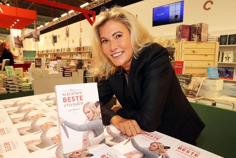 Ilse Beyers schreef het boek waarop de reeks gebaseerd is Beeld Kristof Ghyselinck