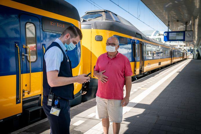 Centraal station in Arnhem. Foto ter illustratie.