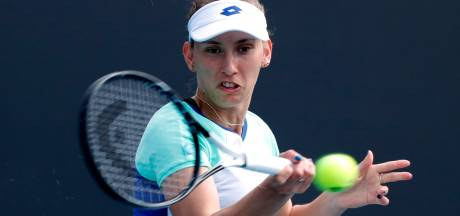 Elise Mertens file au troisième tour de l'Open d'Australie