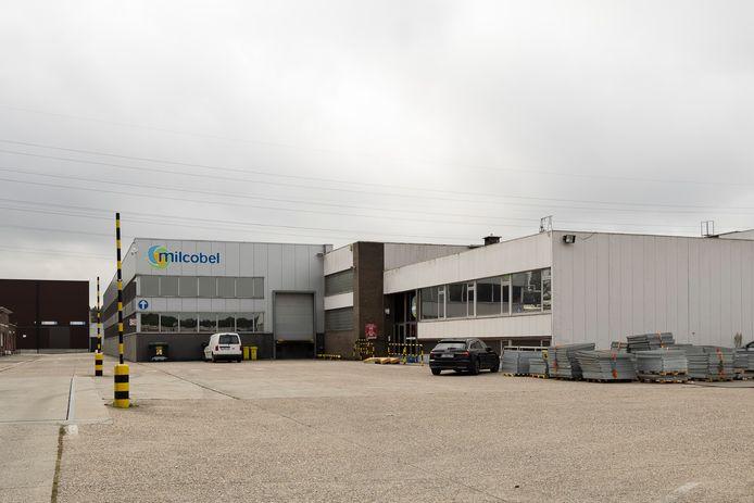 De Milcobel-fabriek in Schoten