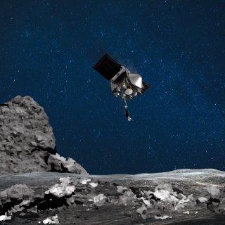 Nasa-sonde Osiris-Rex verliest deeltjes van asteroïde in de ruimte