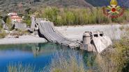 Opnieuw brug ingestort in Italië: zware tol vermeden dankzij lockdown door coronavirus