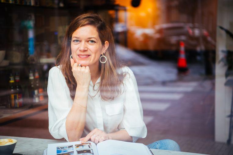 Eva Van Driessche, hoofdredacteur van 'Flair'.  Beeld rv