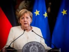 Angela Merkel en visite officielle en Belgique le 15 octobre