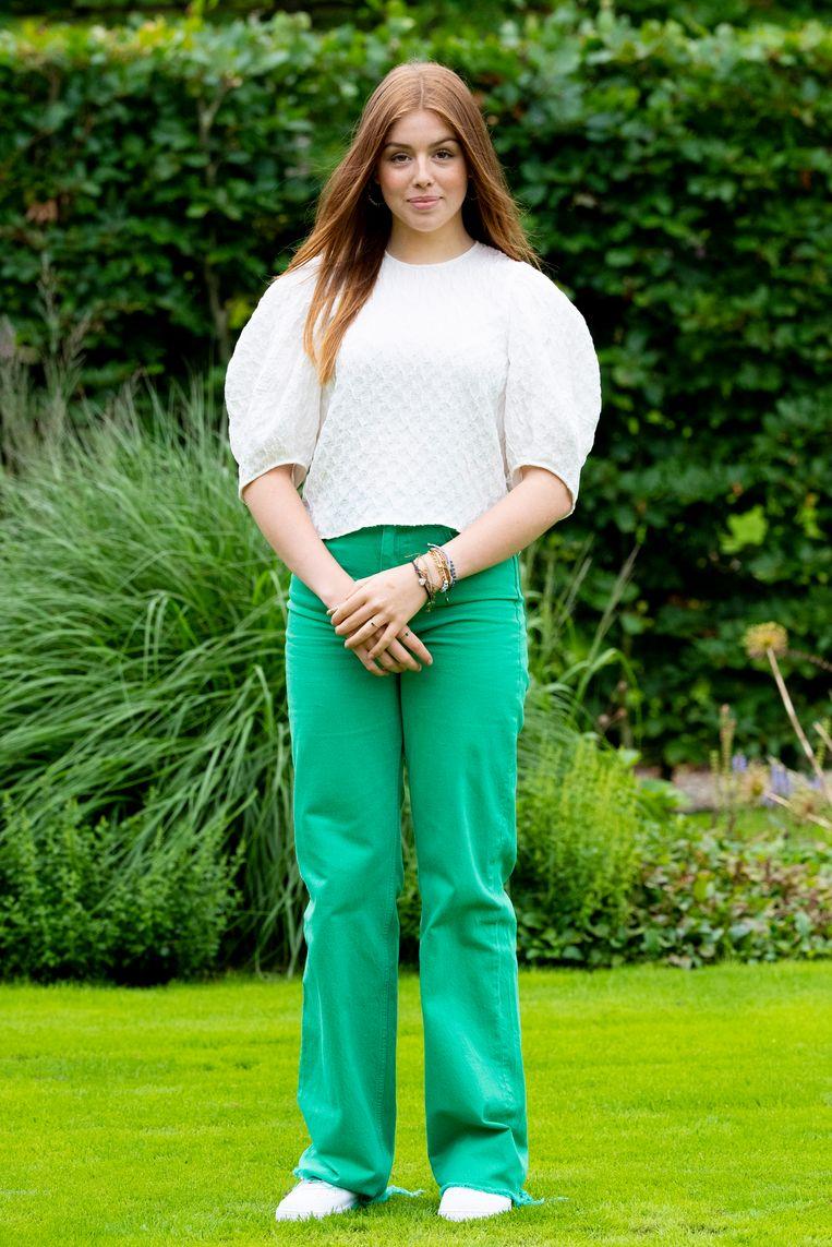 Prinses Alexia tijdens de zomerfotosessie 2021 Beeld Brunopress