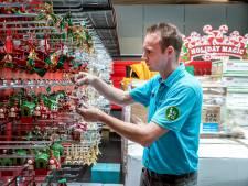 Barbecues leggen het in Nuenen al af tegen Kerstmis; elke dag een volle vrachtwagen naar het tuincentrum
