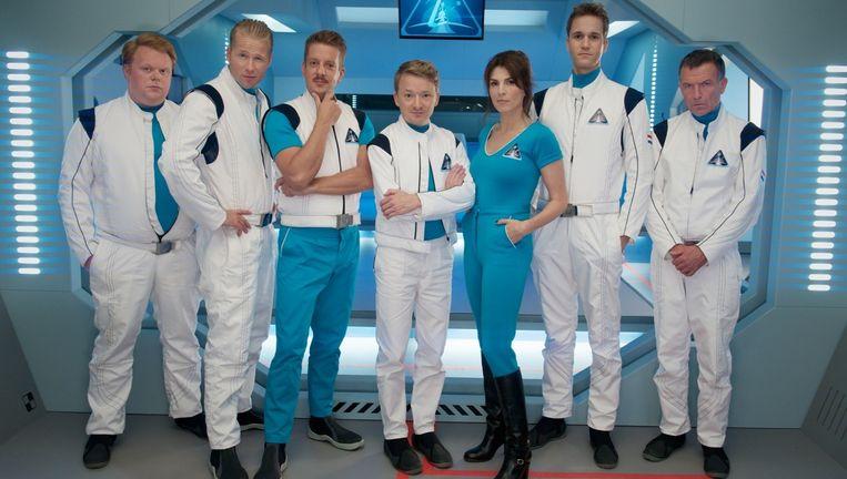De crew van Missie Aarde Beeld NPO