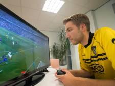 Menno Bouhuijzen (NAC) begint eDivisie met nederlaag in derby ondanks doelpunt Rosheuvel