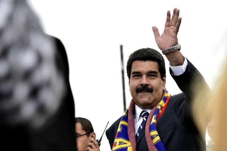 Nicolas Maduro. Beeld afp