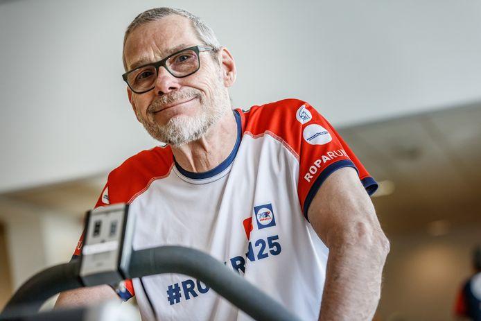 Paul Bossché is ziek, maar doet mee aan de Roparun en de Run-Bike-Walk.