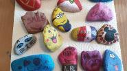 Zoektocht naar beschilderde stenen zet zich verder