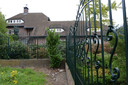 De villa aan de Lange Oijen in Katwijk.