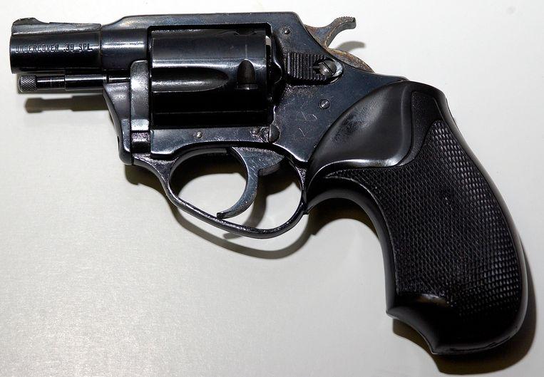 John Lennon werd op straat doodgeschoten door de 25-jarige Mark Chapman met een .38 vuurwapen.  Beeld Reuters