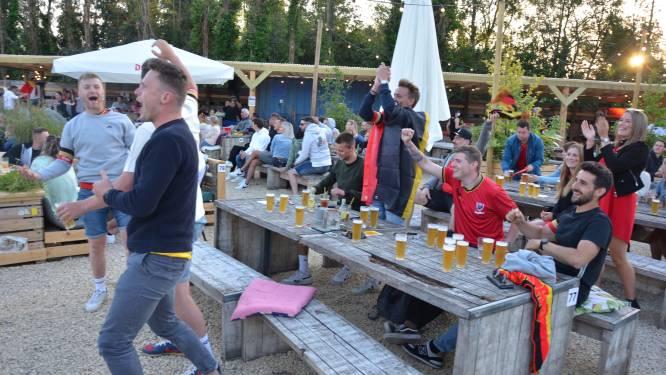 Rode Duivels zorgen voor feestje in zomerbar Loko