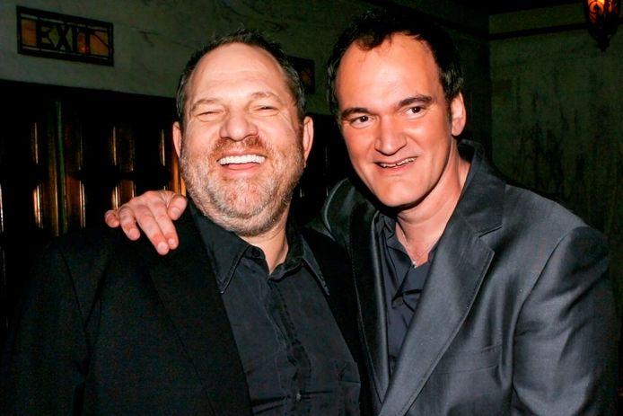 Harvey Weinstein et Quentin Tarantino.