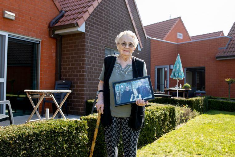 Suzanne Vergeynst (98). Beeld Jan De Meuleneir / Photo News