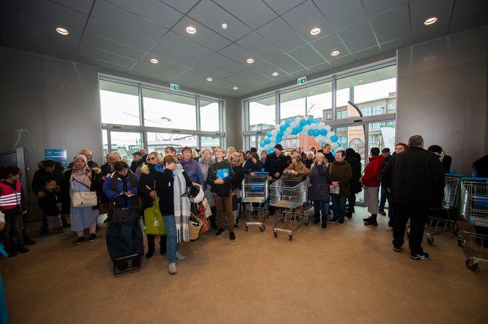 Opening Albert Heijn in Deurne