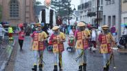 IN BEELD. Reuzenstoet krijgt regenvlaag over zich