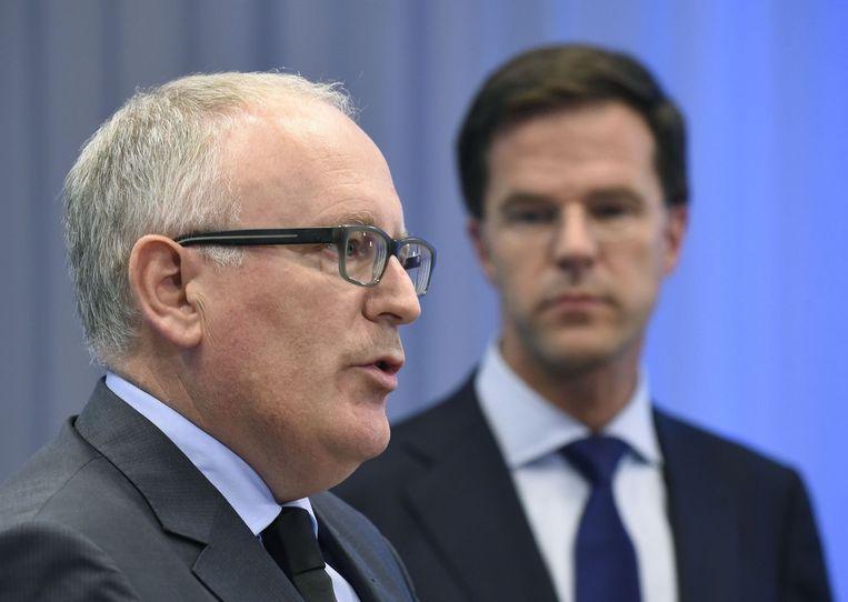 Nederlands minister van Buitenlandse Zaken Frans Timmermans.