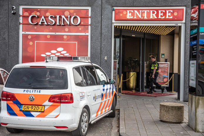 Na de overval was het casino enkele uren dicht.