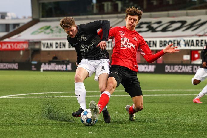 Maxime De Bie verdedigt komend seizoen opnieuw het shirt van Helmond Sport.