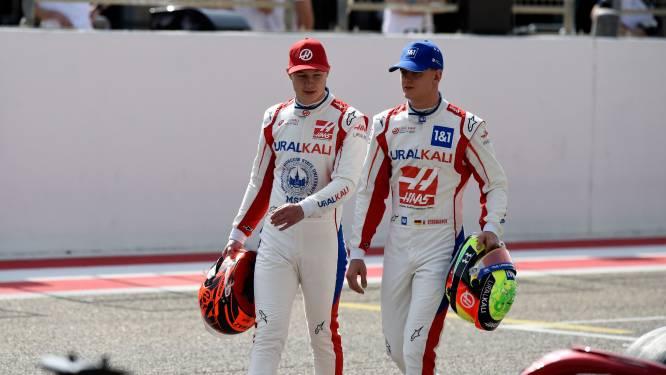 Schumacher en Mazepin blijven in Formule 1 bij Haas