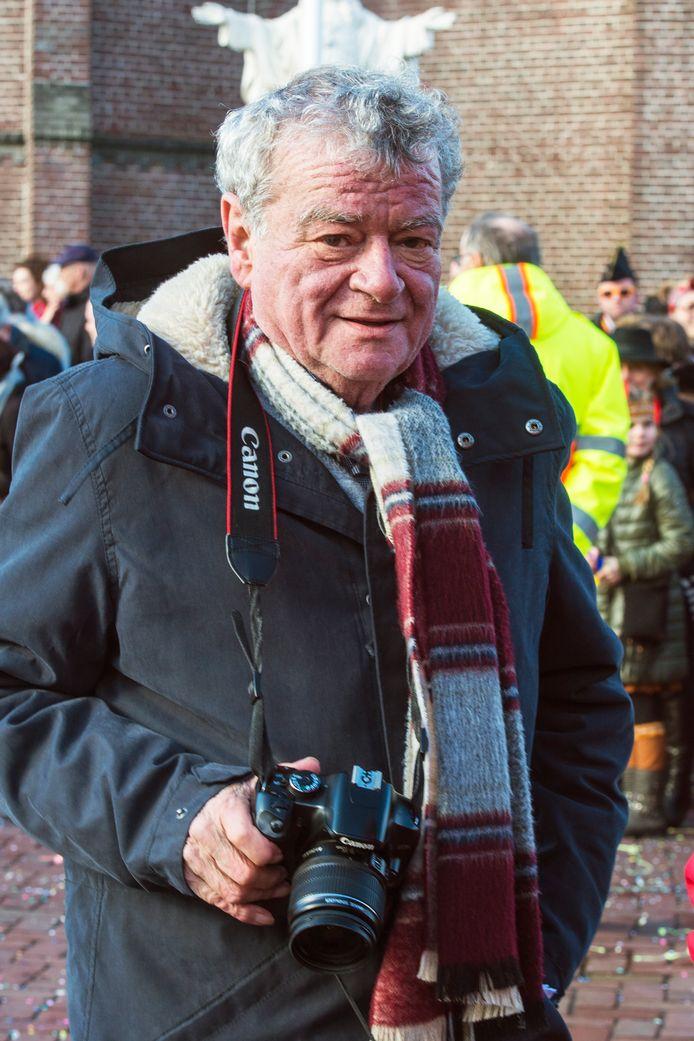 Jan in 't Groen, ook als fotograaf in actie voor het Brabants Dagblad.