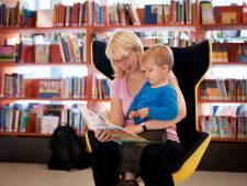 Op schoot van ouder wordt lezer geboren
