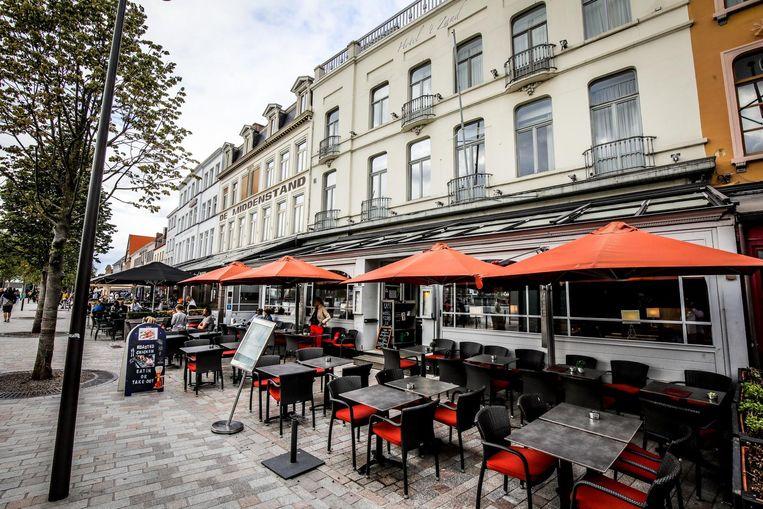 Het nieuwe restaurant komt onder hotel 't Zand.