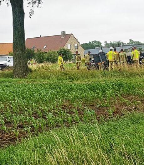 L'accident de voiture ayant fait deux morts à Furnes dû à une vitesse excessive