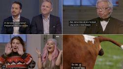 Tv-show laat experts, astroloog, beautybloggers en koeien beurs voorspellen: experts voelen bui hangen en terecht zo blijkt