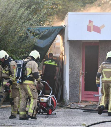 Brandje in leegstand pand naast woning in Glanerbrug