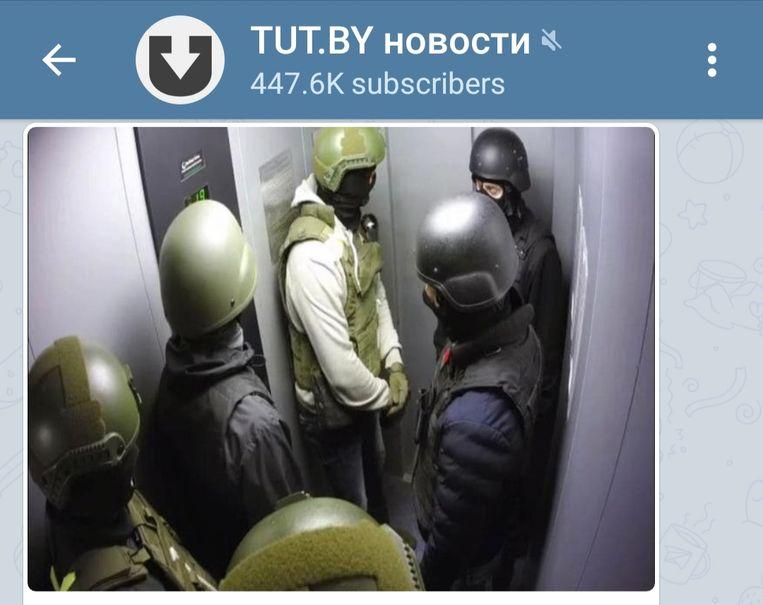 Volgens de Belarussen is Tut.by, de betrouwbaarste nieuwsbron.  Beeld