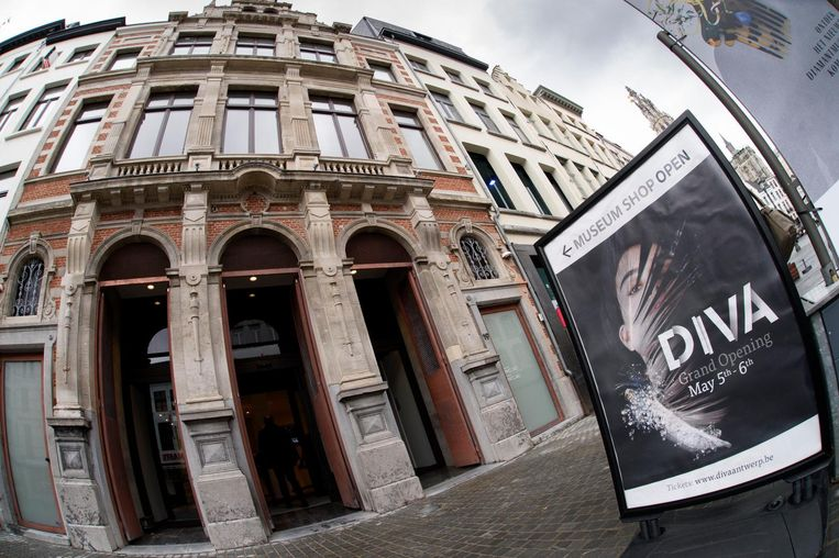 Het diamantmuseum DIVA.