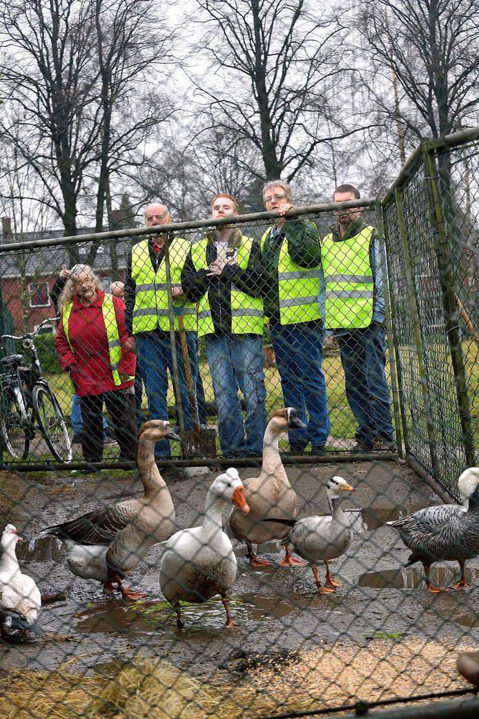 Het dierenparkje aan de Wilhelminalaan wordt door gemeente overgedragen aan IJgenwijs en Anders.